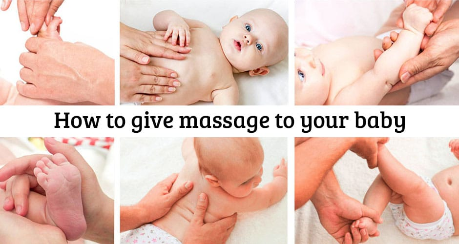 Загальнозміцнюючий масаж для немовлят