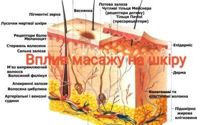 Як масаж впливає на шкіру?